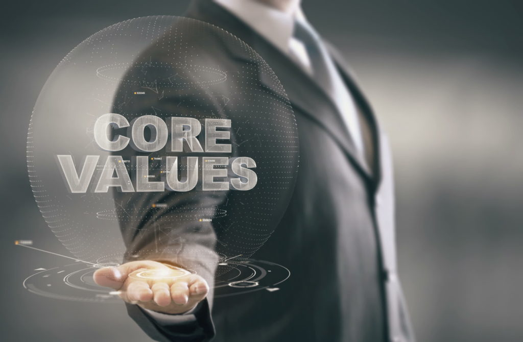 The Core Values of Paul Alan Smith